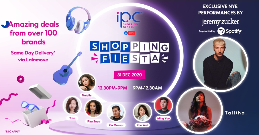 IPC starts 2021 with innovative  shoppable live stream!